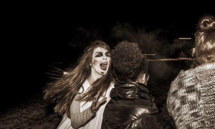 Spooktocht de weide