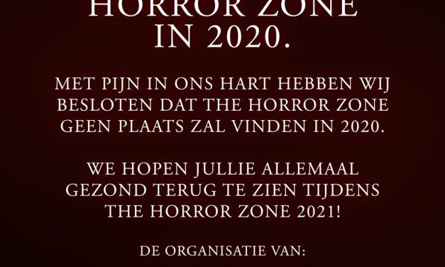 The Horror Zone 2020 gaat niet door