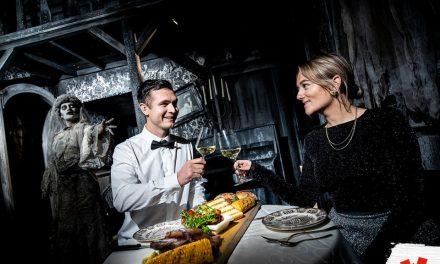 Dineren in een spookhuis