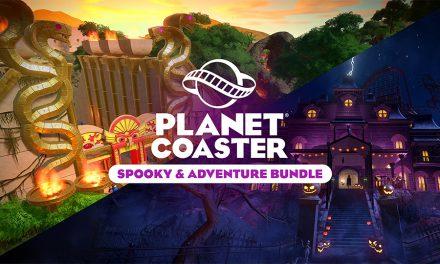 Nieuw uitbreidingspakket voor Planet Coaster: Spooky and Adventure